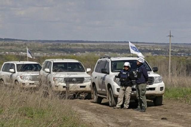 Боевики «ЛНР» и «ДНР» препятствуют проезду наблюдателей СММ ОБСЕ